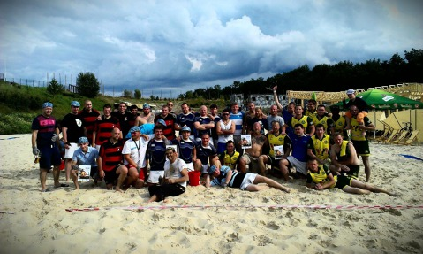 Zilina Beach rugby